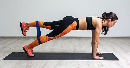 5 Resistance Band Exercises for a Strong Butt