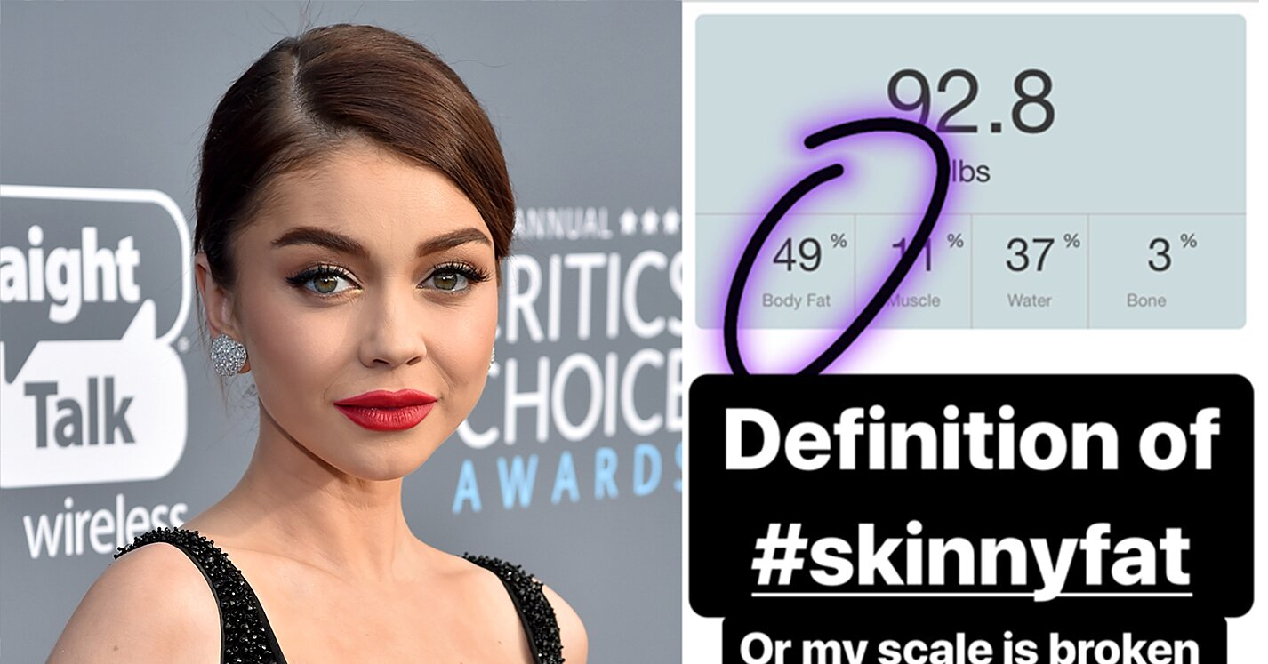 Sarah Hyland Weighs 92 Pounds and Has 49% Body Fat