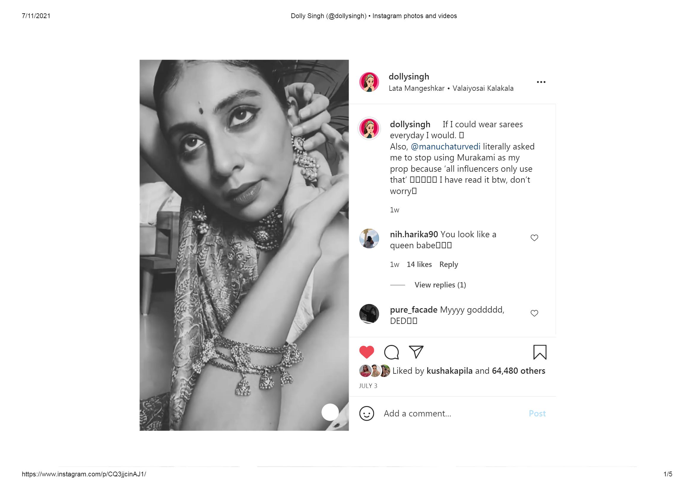 DollySingh -Fashion Blogger